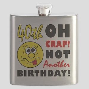 Crap 40 Flask