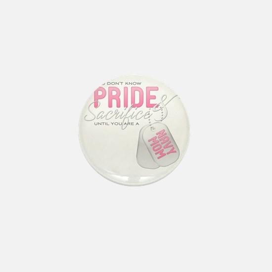 PrideandSacrifice_NavyMom Mini Button