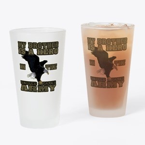 army hero_brother Drinking Glass