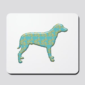 Paisley Curly Mousepad
