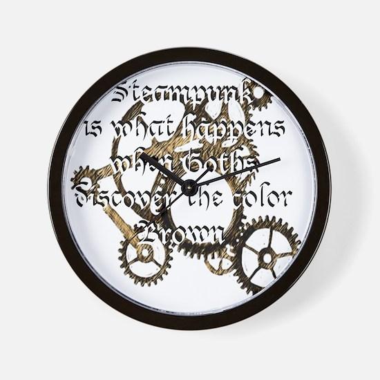 steam_punk_1 Wall Clock