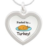 Fueled by Turkey Silver Heart Necklace