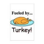 Fueled by Turkey Mini Poster Print