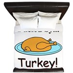 Fueled by Turkey King Duvet