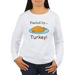 Fueled by Turkey Women's Long Sleeve T-Shirt