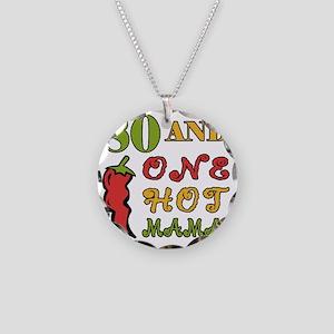 HotMama80 Necklace Circle Charm