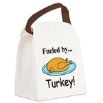 Fueled by Turkey Canvas Lunch Bag