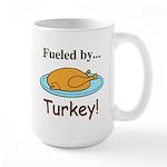 Fueled by Turkey Large Mug