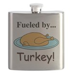 Fueled by Turkey Flask