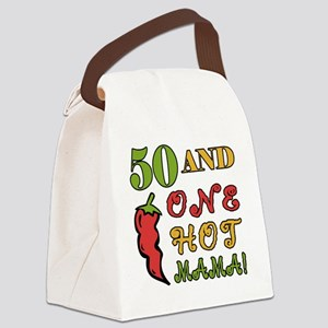 HotMama50 Canvas Lunch Bag