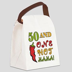 HotMama50 Canvas Lunch Bag