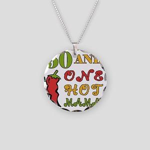 HotMama50 Necklace Circle Charm