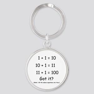 2-Got it Round Keychain