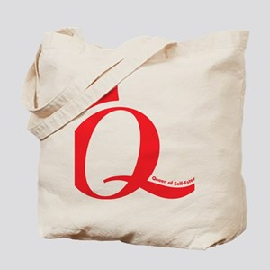 Q-logo-red-FINAL Tote Bag