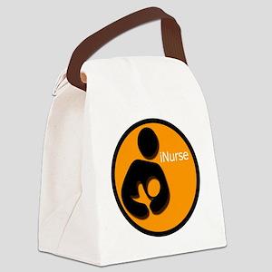 i_Nurse_Orange Canvas Lunch Bag