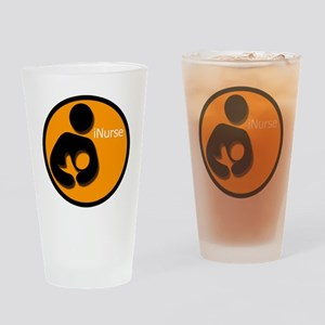 i_Nurse_Orange Drinking Glass