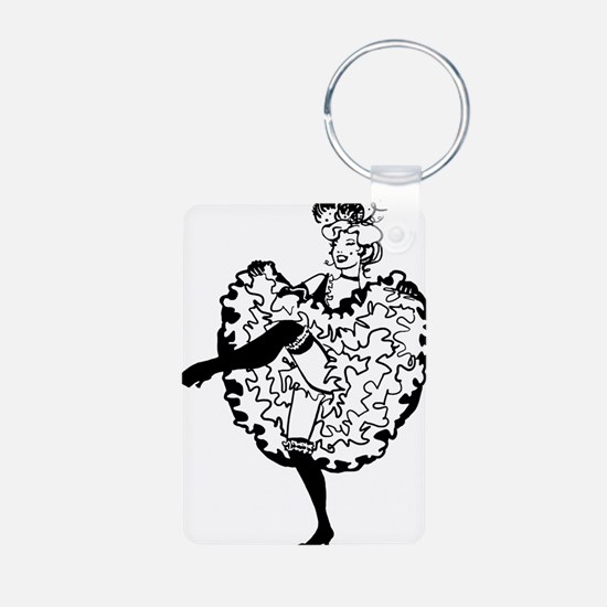 can-can-dancer_tr Keychains