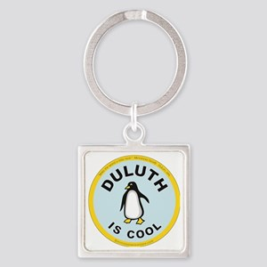 big  new penquin Square Keychain