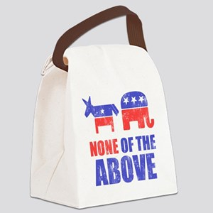 NONEOFTHEABOVE Canvas Lunch Bag