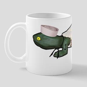 Navy Turdy 10x10 Mug