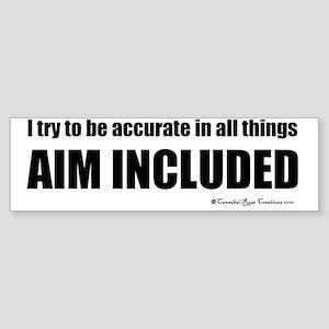 aim Sticker (Bumper)