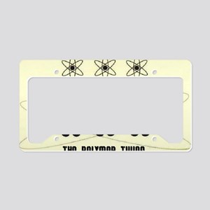 the polymer twins icon no tit License Plate Holder