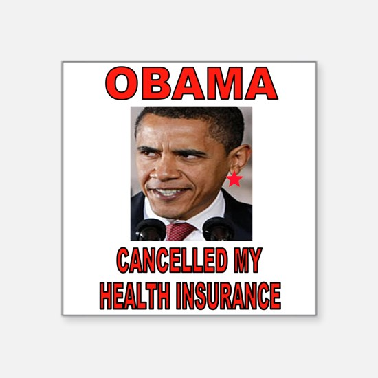 OBAMA CANCELLED Sticker
