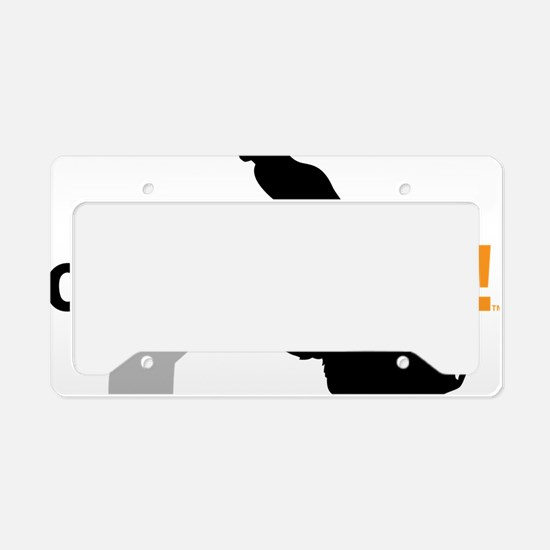 Cats Happen License Plate Holder