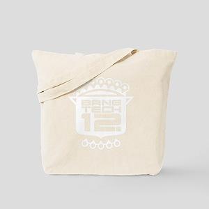 12x12 Plus Size White Tote Bag