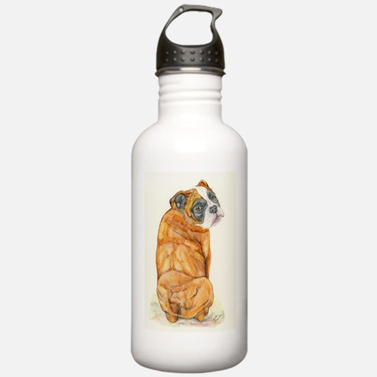 Old English Bulldog Water Bottle