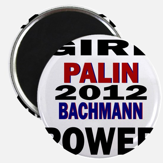 palin_bachmann_girlpower Magnet