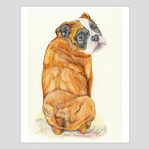 Old English Bulldog Small Poster