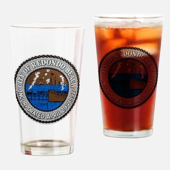 Redondo cafe press 1 042210 Drinking Glass