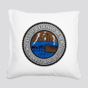Redondo cafe press 1 042210 Square Canvas Pillow