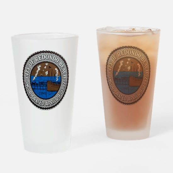 Redondo cafe press 2 042210 Drinking Glass