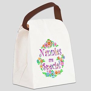 nannie Canvas Lunch Bag