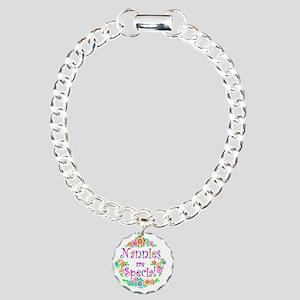 nannie Charm Bracelet, One Charm
