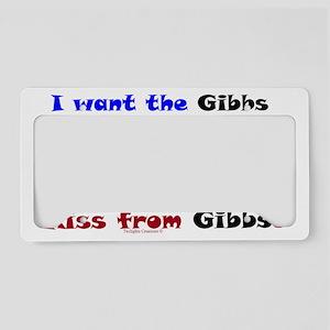 GibbsEncouragementPackage License Plate Holder