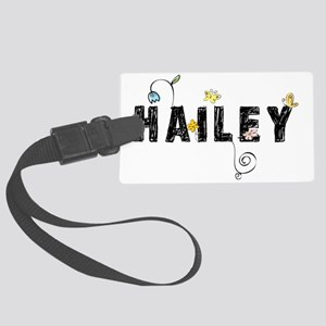Hailey Floral Large Luggage Tag