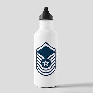 USAF-SMSgt-Old-Blue-PN Stainless Water Bottle 1.0L