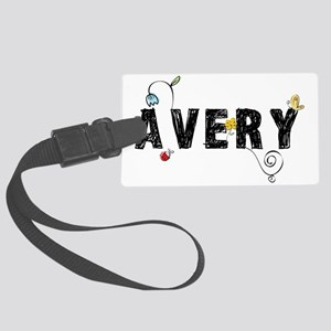 Avery Floral Large Luggage Tag