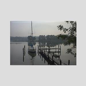 eastern-shore_dock_1_note Rectangle Magnet