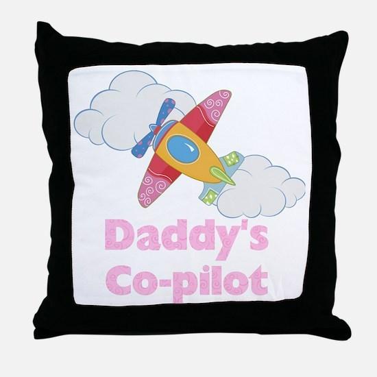 copilot girl Throw Pillow