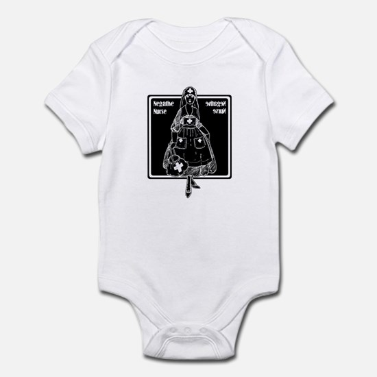 Negative Nurse Infant Bodysuit