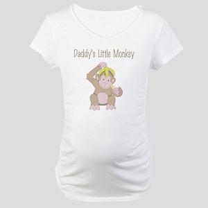 little monkey Maternity T-Shirt