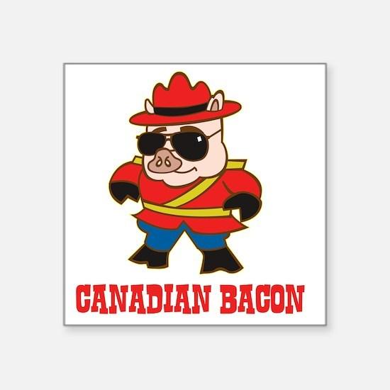 """canadianbacon Square Sticker 3"""" x 3"""""""