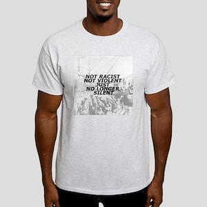 NOTSILENTBUTTON2 Light T-Shirt