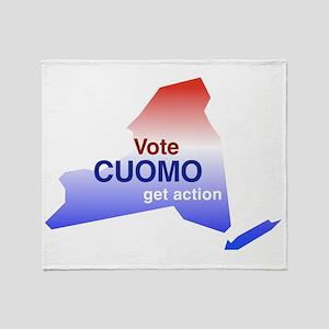 votecuomo2 Throw Blanket
