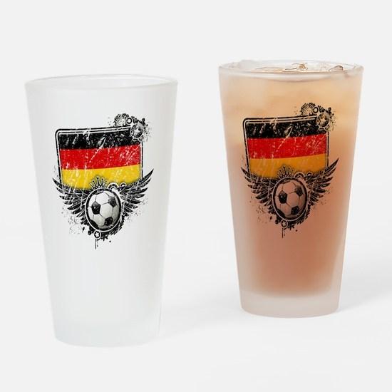 Soccer fan Germany Drinking Glass