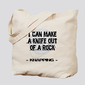 Knapping 2 Tote Bag